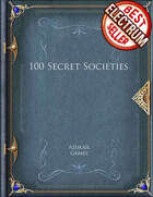 100 Secret Societies