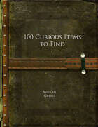 100 Curious Items to Find