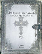 100 Things to Find in a Place of Worship