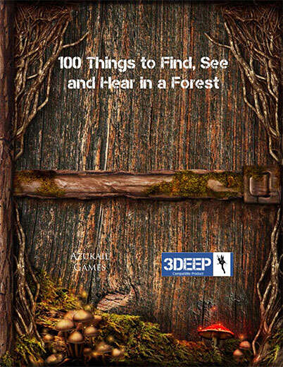 100 Things to Find, See and Hear in a Forest (3Deep)