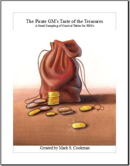 The Pirate GM's Taste of the Treasures