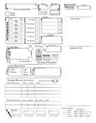 Battleaxes & Beasties Character Sheet - Portrait