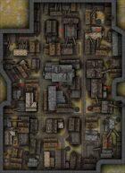 Rooftops Battlemap