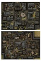 Rooftops and Alleyways Battlemaps [BUNDLE]