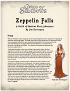Zeppelin Falls - Adventure for Guild of Shadows