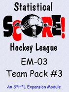 The SHL - Team Pack #3 - EM-03