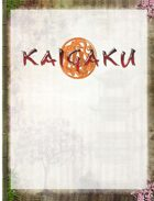 Black Hack/Kaigaku GM Screen Landscape