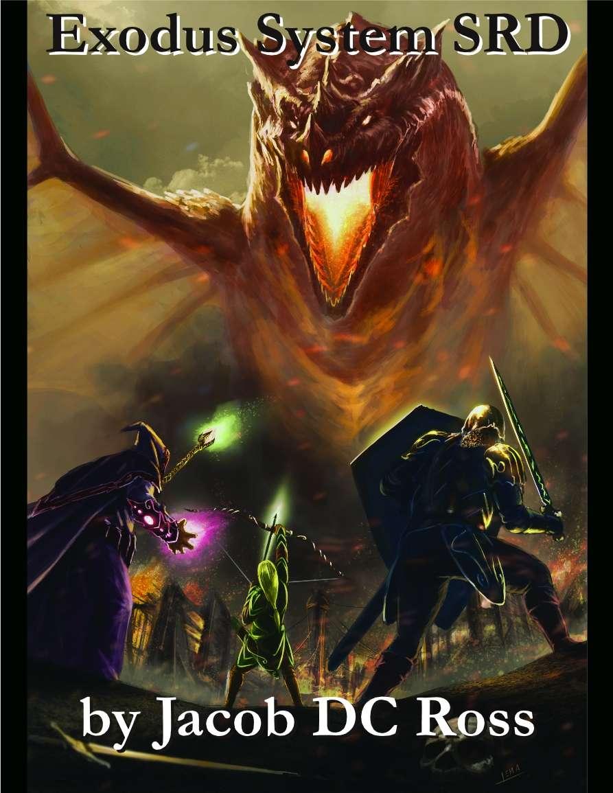 Exodus System Srd Thunderegg Productions Drivethrurpg Com