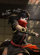 Thunderegg Stock Art: Shuriken Ninja