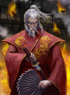 Thunderegg Stock Art: Red Samurai Lord