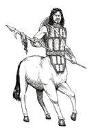 Stock Art Male Centaur