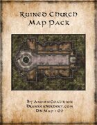 DN Map 07 - Ruined Church, Abbey, or Temple