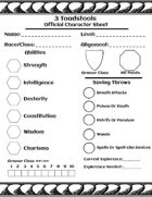 Character Sheet - Old School