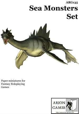 Sea Monsters Set