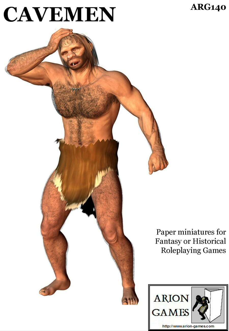 Cavemen Set