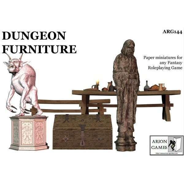 Dungeon Furniture Set