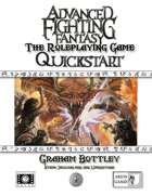 Advanced Fighting Fantasy Quickstart