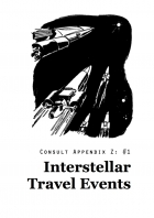 Consult Appendix Z - No 1: Interstellar Travel Events