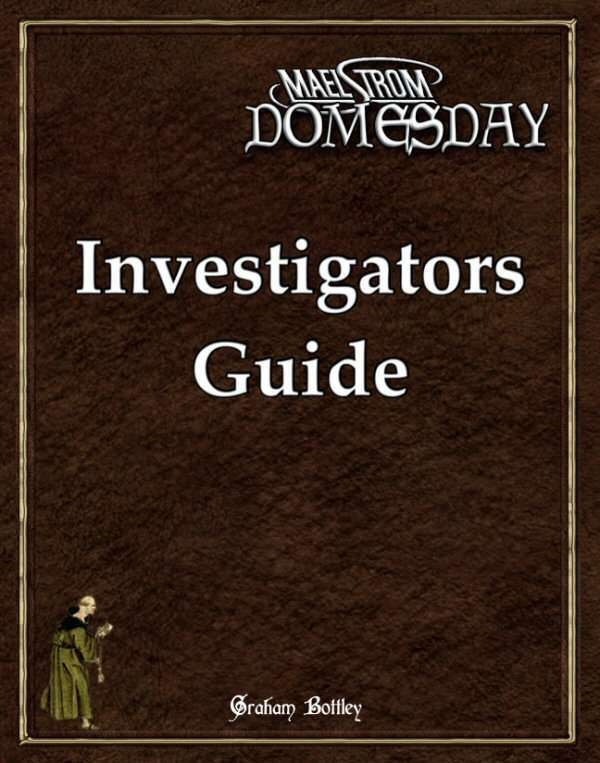 Maelstrom Domesday Investigators Guide