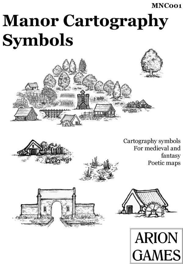 Manor Cartography Symbols