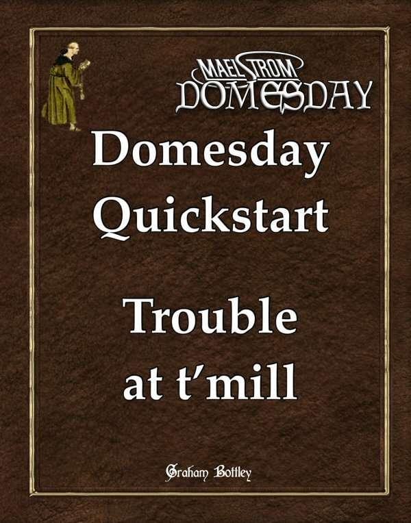 Maelstrom Domesday Quickstart