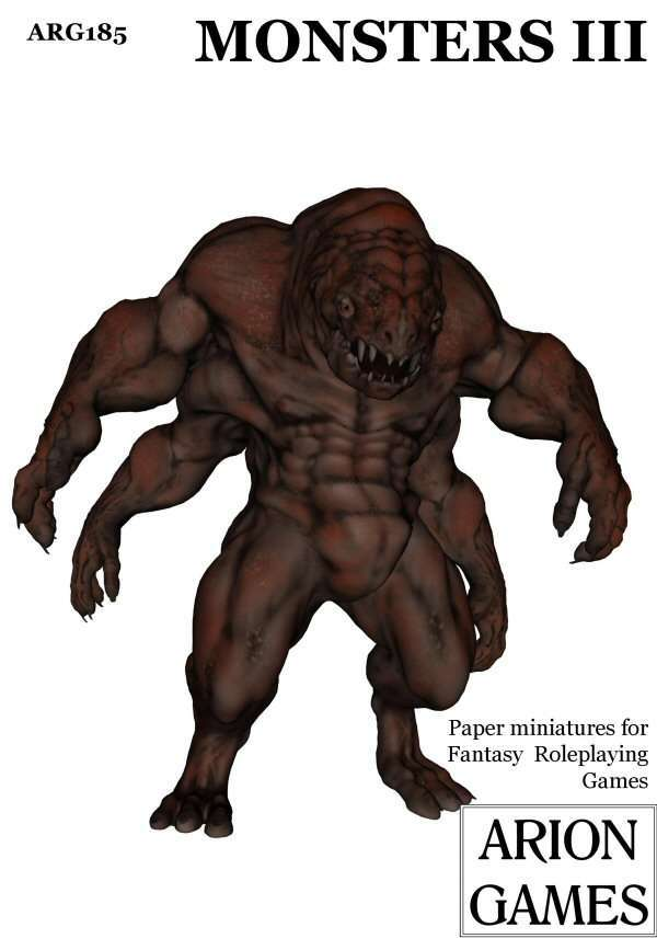 Monsters III set