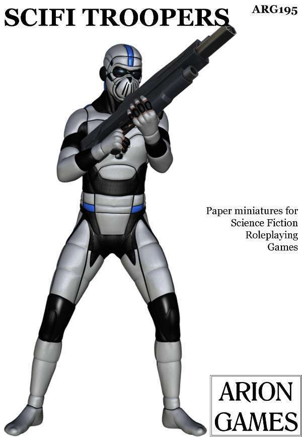 SciFi Troopers Set