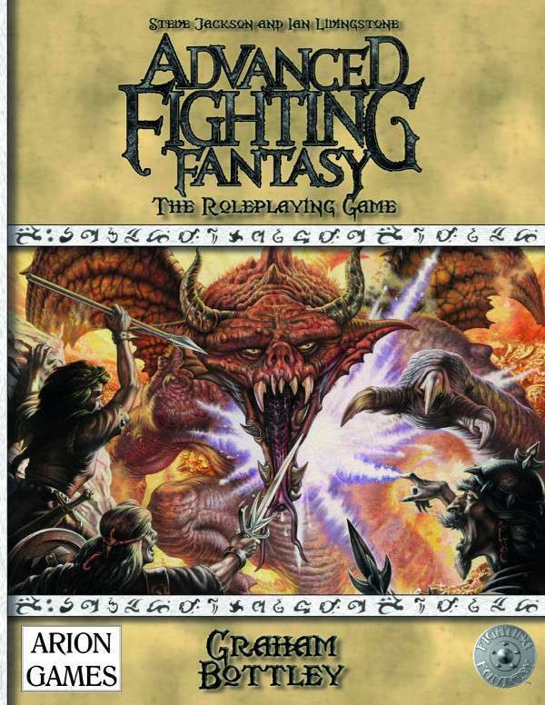 Advanced Fighting Fantasy 2nd Ed
