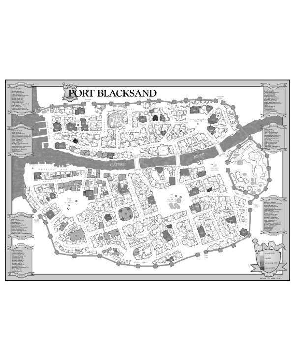 Blacksand Map