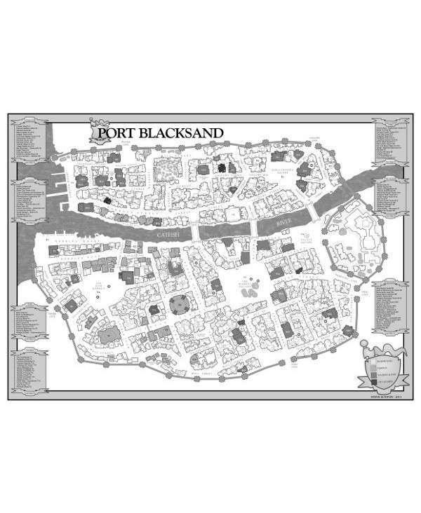 Blacksand Map