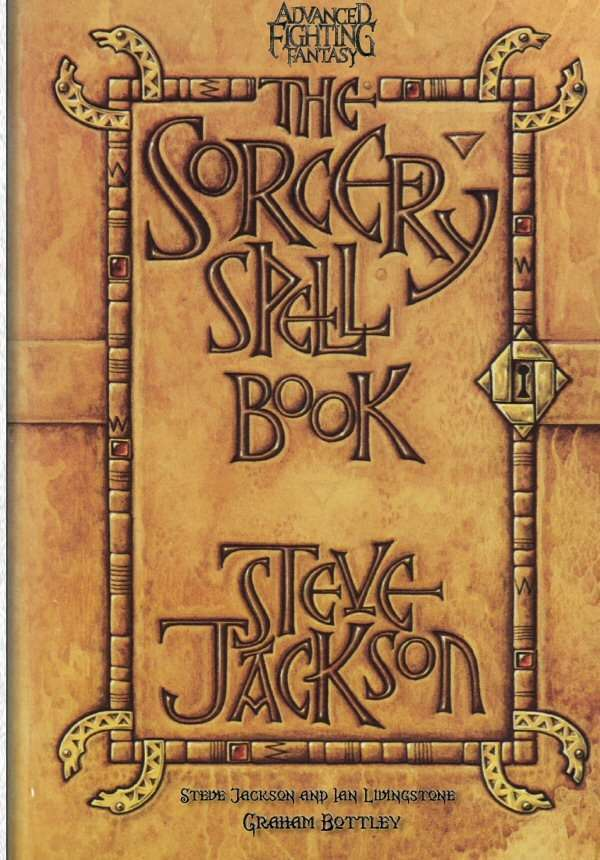 Sorcery Spell Book Arion Games Advanced Fighting
