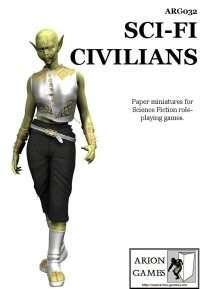 Sci-Fi Civilians Set