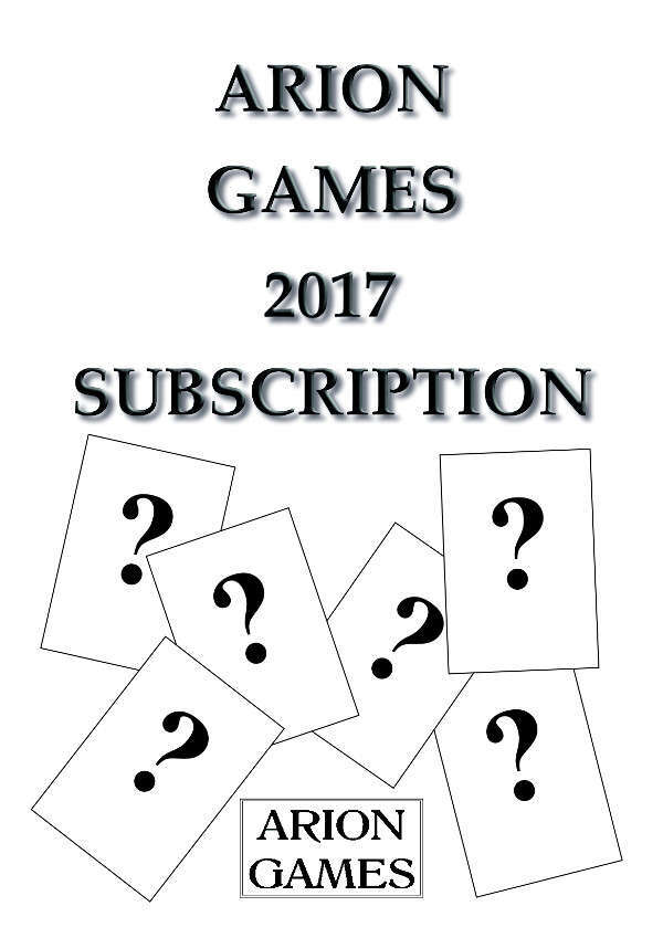 Arion Games 2017 Paper Mini Subscription