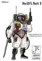 John Kapsalis SciFi Set I