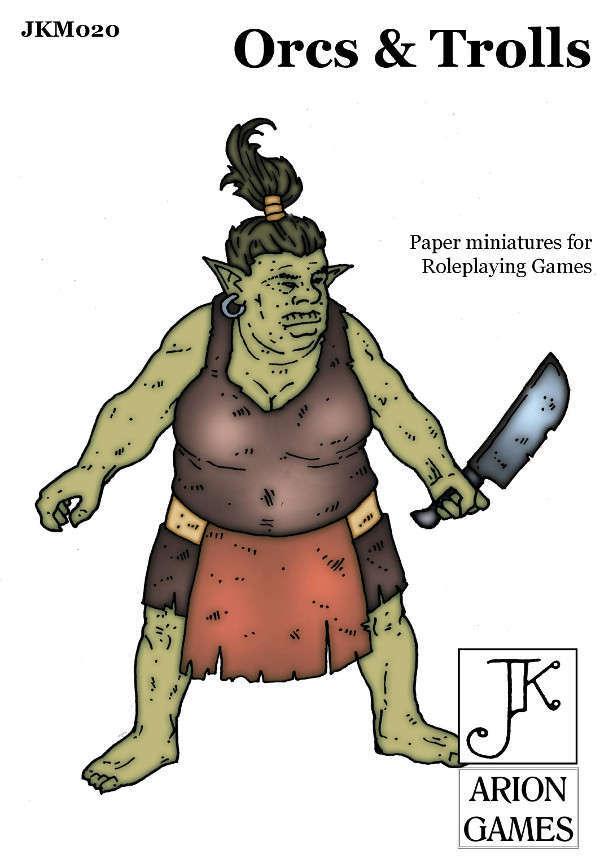 John Kapsalis Orcs & Trolls