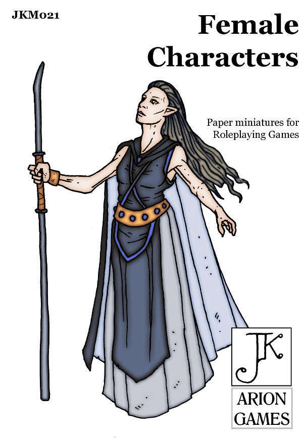 John Kapsalis Female Characters