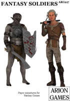 Fantasy Soldiers Set