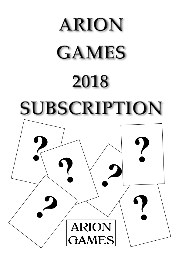 Arion Games 2018 Paper Mini Subscription