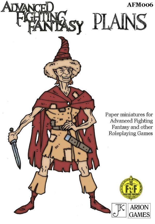 Advanced Fighting Fantasy Minis: Plains