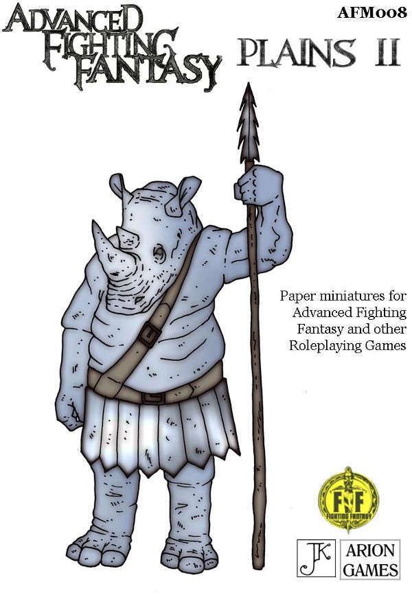 Advanced Fighting Fantasy Minis: Plains II