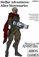 Stellar Adventures Minis: Alien Mercenaries