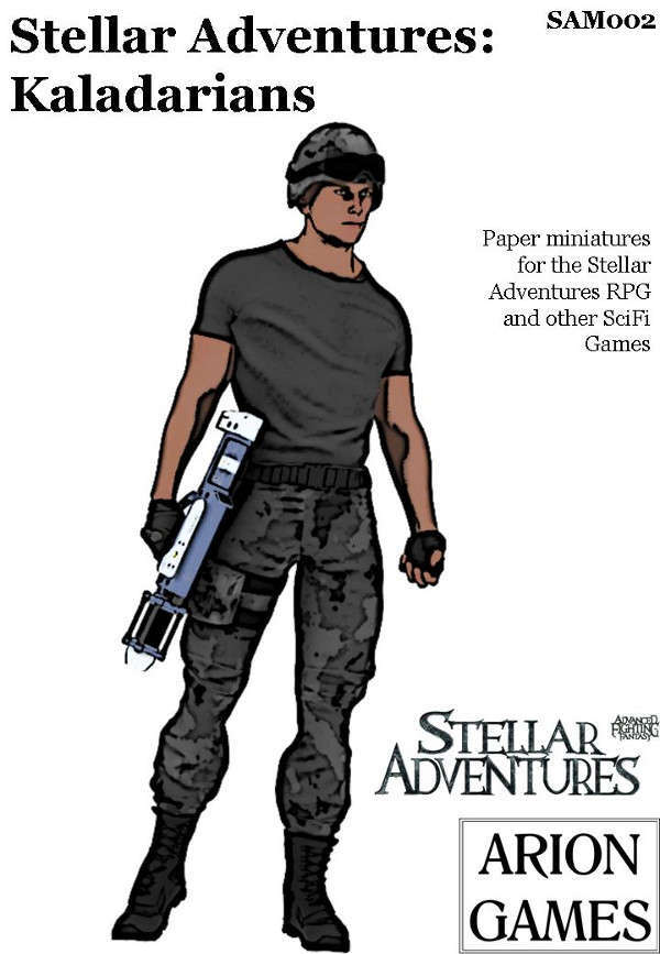 Stellar Adventures Minis: Kaladarians
