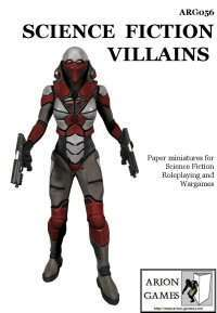 Science Fiction Villains Set