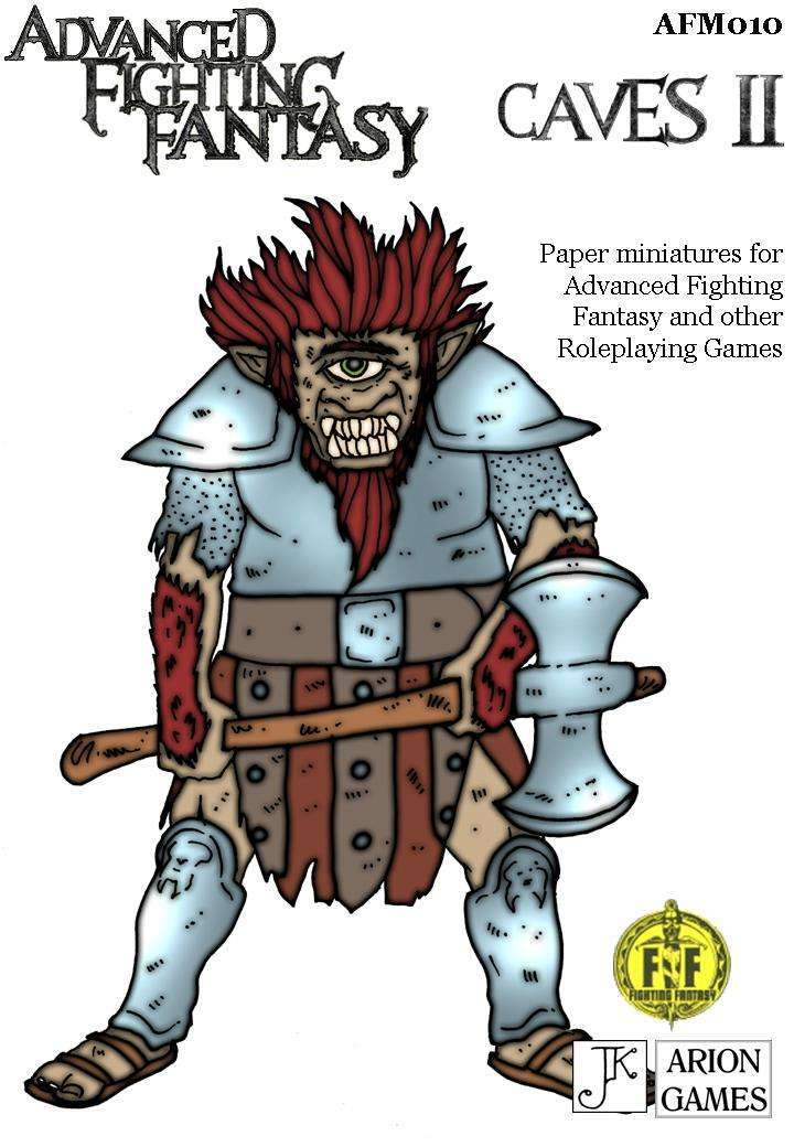 Advanced Fighting Fantasy Minis: Caves II