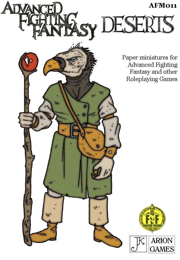 Advanced Fighting Fantasy Minis: Deserts