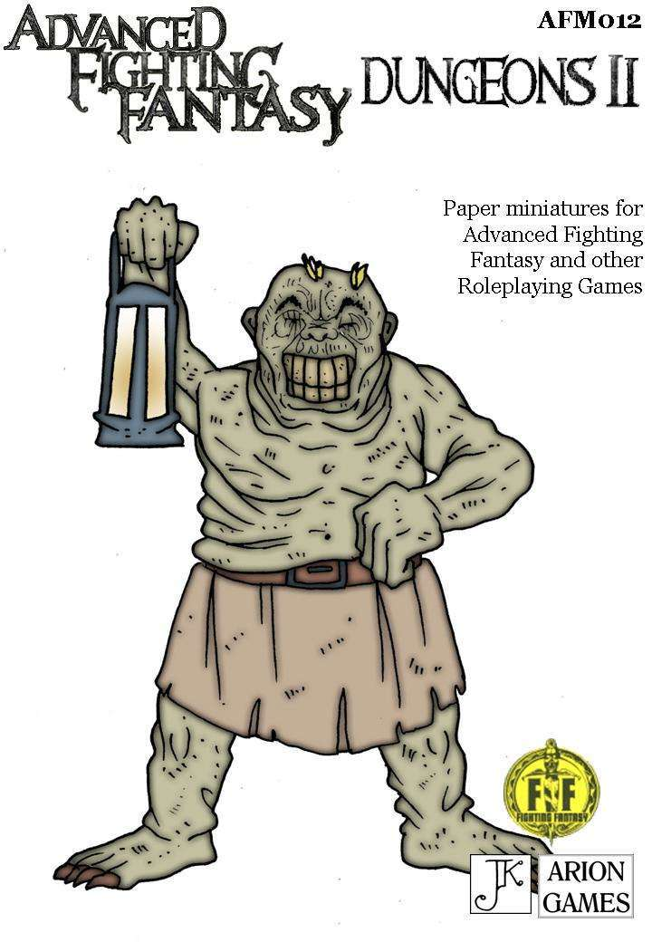 Advanced Fighting Fantasy Minis: Dungeons II