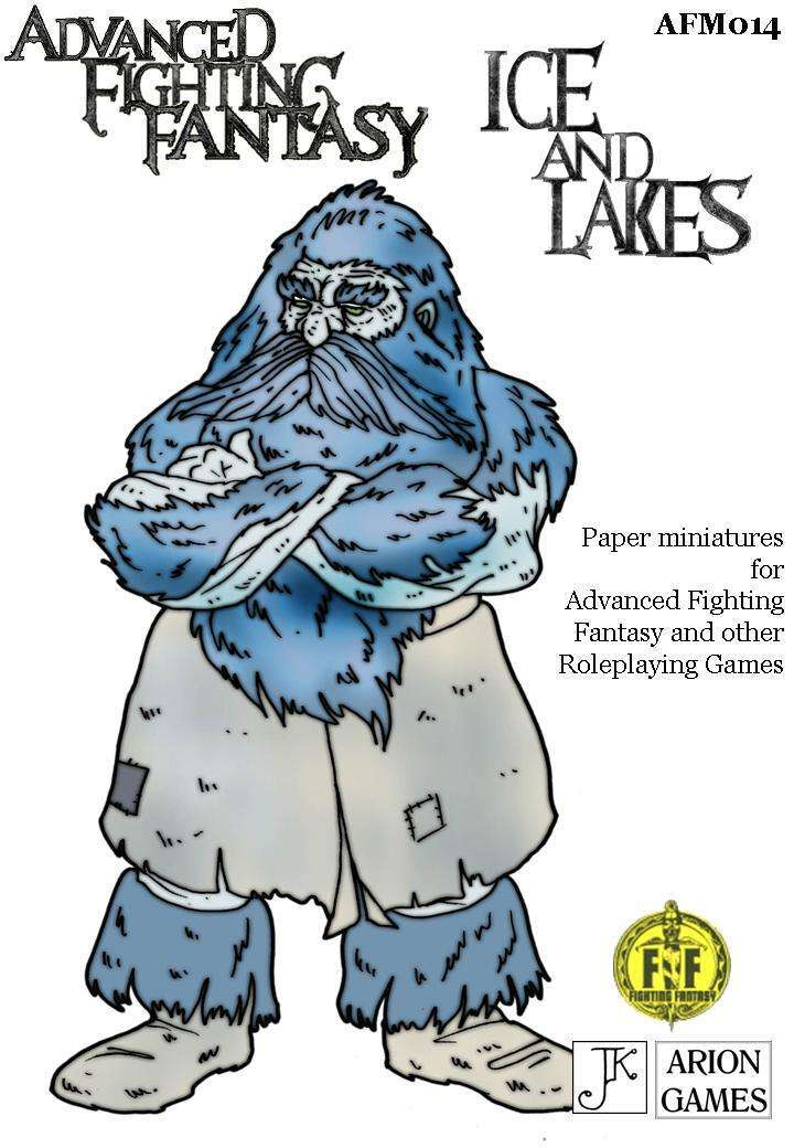 Advanced Fighting Fantasy Minis: Ice & Lakes