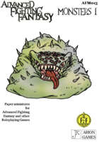 Advanced Fighting Fantasy Minis: Monsters I