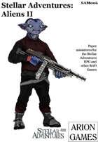Stellar Adventures Minis: Aliens II