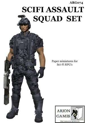 SciFi Assault Squad Set